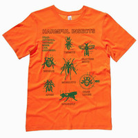 Annoying (and Harmful) Insects T-shirt