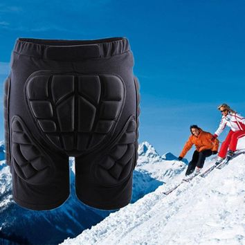 VESSOS Sport Snowboarding Shorts Hip Protective Bottom Padded For Ski & Roller Skate & Snowboard Hip Protection Pad Sports Gears