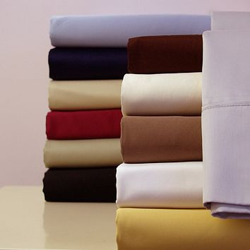 300 Thread count Solid 100% Combed cotton
