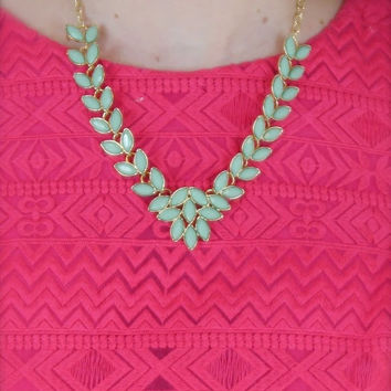 Marquise Leaf Necklace