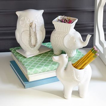 Whimsical Ceramic Buddies