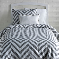 Tiled Chevron Duvet Cover and Sham Set