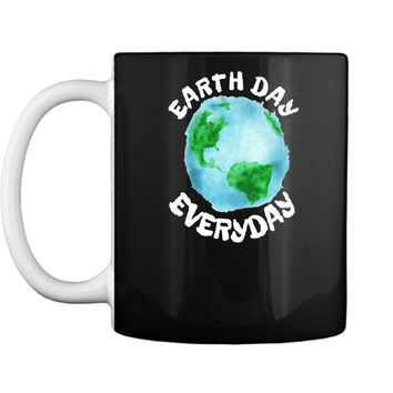 Earth Day Shirt Everyday Conservation Plant Nature Lover Tee Mug