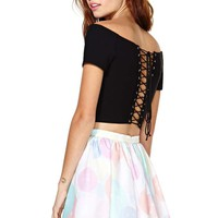 Nasty Gal All Nighter Crop Top