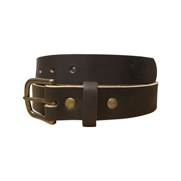 The Heritage Belt - Dark Brown