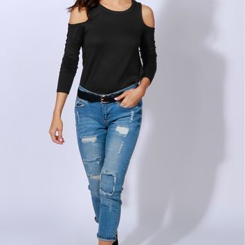 Dreaming Of Denim Distressed Skinny Jean