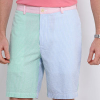 Men's Shorts: Pieced Seersucker Club Shorts – Vineyard Vines
