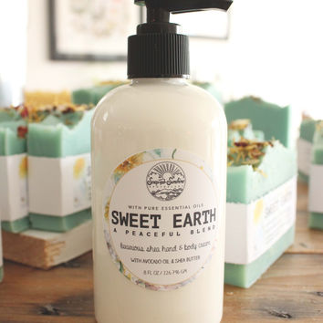 Sweet Earth - Shea & Avocado Body Cream