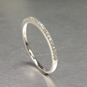 6b8be21a80599 Best Thin Eternity Bands Diamonds Products on Wanelo