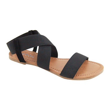 Black District Sandal