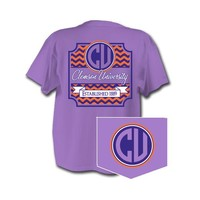 Palmetto Moon | Clemson Greek T-Shirt