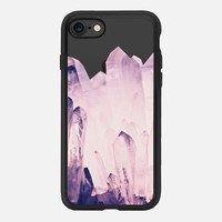 PURE CRYSTAL ROSEQUARTZ by Monika Strigel iPhone 7 Hülle by Monika Strigel | Casetify
