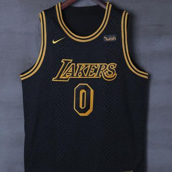 Los Angeles Lakers #0 Kyle Kuzma Nike City Edition NBA Jerseys - Best Deal Online