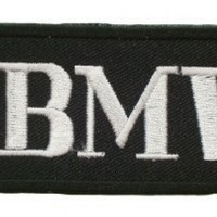 BMW Motorcycles Tag Bike Vintage Racing Car Sew Iron on Patch PB03