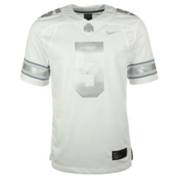 Nike NCAA Men's Limited Platinum Football Jersey
