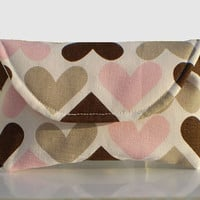 Valentine's Day Hearts - Oversized Sunglass Case - Free Shipping in the US