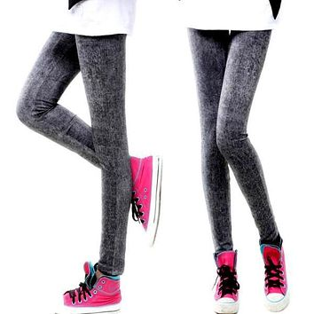 Stylish Sexy Women Denim Jeans Skinny Jeggings Tights Stretch Pants Trousers