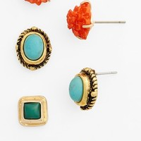 South Sun Assorted Stud Earrings (Set of 3) (Juniors)