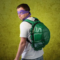TMNT Shell Backpack with Masks