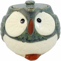 Owl Tea Pot ~ SETOYAKI