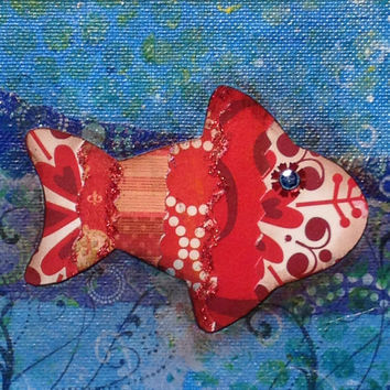 Fish decorative wall hanging