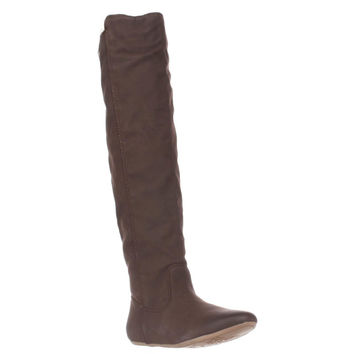 Roxy Shawnee Over the Knee Boots, Brown, 8 US