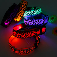 Large Pet LED Flashing Collar