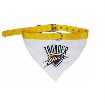 ESBONI Oklahoma City Thunder Dog Collar Bandana