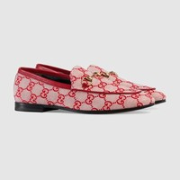 Gucci - Gucci Jordaan GG canvas loafer