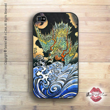 Chinese Dragon Print - iPhone 4 Case, iPhone 4s Case and iPhone 5 case