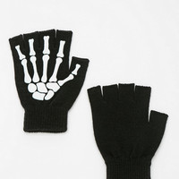 Urban Outfitters - Skeleton Fingerless Glove