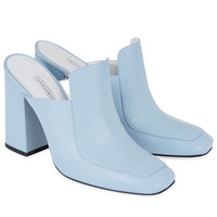 DORATEYMURBaby Blue Leather Munise Mules