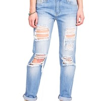 Truth or Dare Boyfriend Jeans