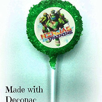 TMNT Teenage Mutant Ninja Turtles White Chocolate Covered Oreo Cookie Pops