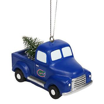 Licensed Florida Gators NCAA Holiday Christmas Ornament Truck With Tree KO_19_1