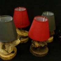 BoGaLeCo.com / Ligths / Lamps / driftwood / Small driftwood lamp