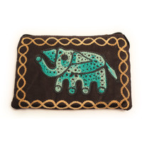 Elephant Coin Purse (Brown)
