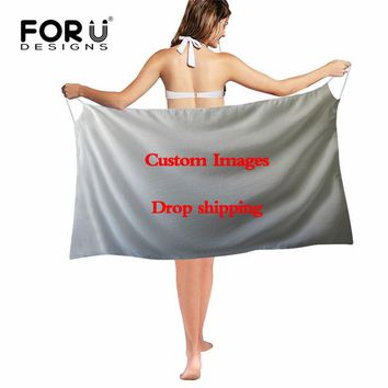 Cover ups Bikini FORUDESIGNS Dog Pattern Sexy Bikini  Shawls Summer Beach Swimsuit Scarves Girls Thin Suncreen Ponchos Scarfs Female KO_13_1