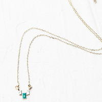 Enable Pendant Necklace in Gold - Urban Outfitters