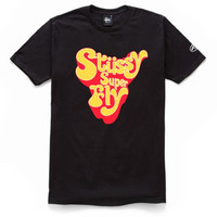 Stussy: Superfly International (Curtis Mayfield) Shirt - Black