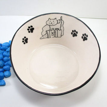 Ceramic pet bowl, cat food bowl, pet food bowl, pet dish, pottery pet bowl, ceramic pet dish, pet feeding, cat food dish, pet bowl, cat bowl