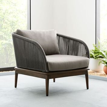 Corded Weave Lounge Chair