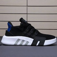 ADIDAS EQT Bask ADV Knit Casual Sports Running Shoes for Men and Women F-A0-HXYDXPF Black