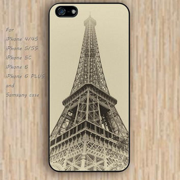 iPhone 5s 6 case eiffel tower cartoon flowers dream catcher colorful phone case iphone case,ipod case,samsung galaxy case available plastic rubber case waterproof B630