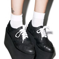Current Mood Frankie Platform Oxfords | Dolls Kill