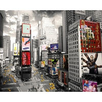 (16x20) New York City Times Square from Above Art Print Poster