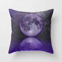 MOON FANTASY 2 Throw Pillow by catspaws