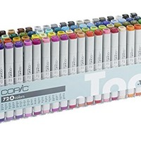 Copic markers Classic.72 color set A