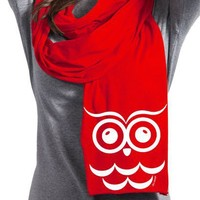 Chi Omega Sorority Scarf - Owl - Chi Omega - Greek