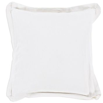 White Triple Flange Pillow